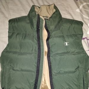 Champion Down feather puffer vest